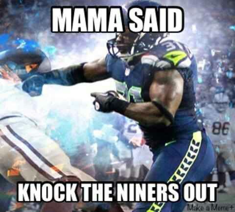 Yes we will! #seahawks #niners