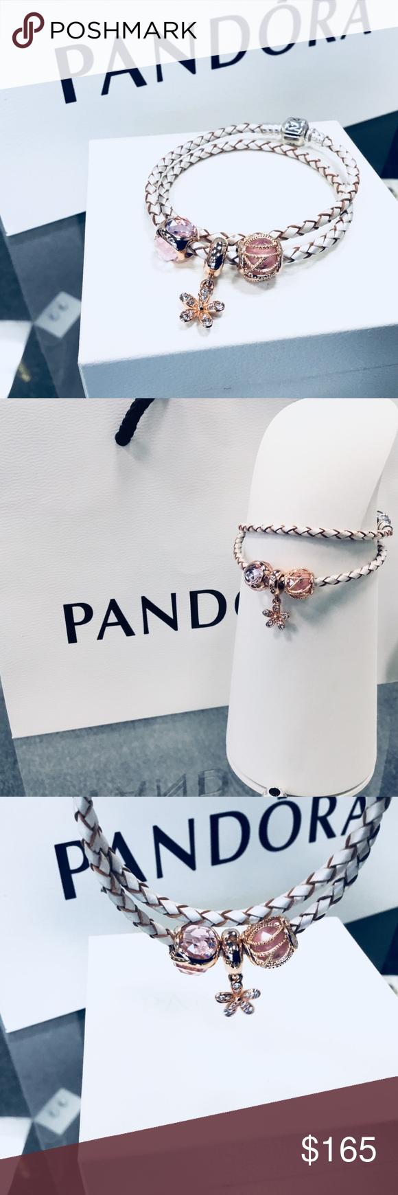 Authentic pandora rose gold bracelet new pandora rose gold