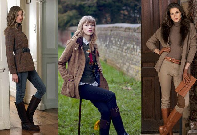 English Country Style Outfits