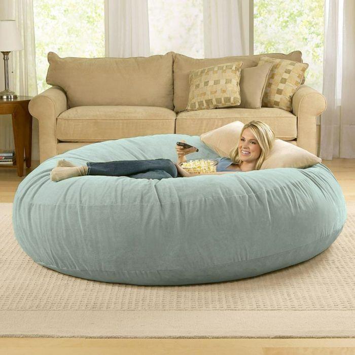 Super Le pouf géant - un coussin de sol amusant et confortable  ZP61