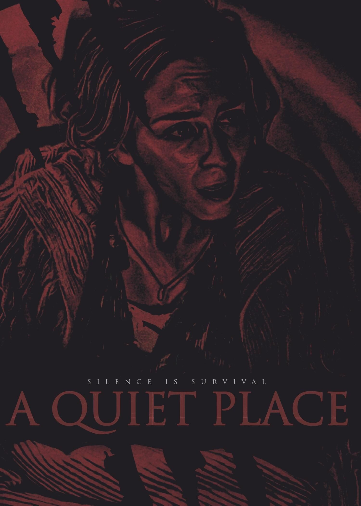 a quiet place 2018 1500x2104 movie poster in 2019