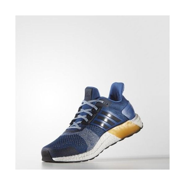 the latest 257d0 82fba adidas Ultra Boost ST Shoes MULTI ( 180) ❤ liked on Polyvore featuring  men s fashion