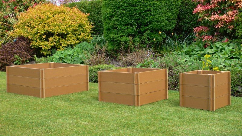 Planters | Our Recycled Plastic Garden Planters Are Available In Three Sizes