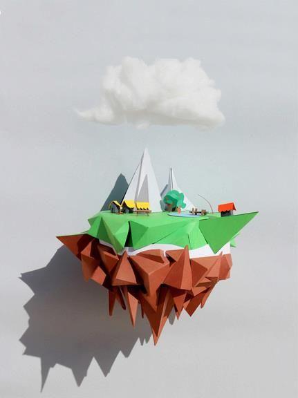 Floating Island By Mjulien (France)!!!