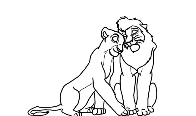 Lionking 2 Zira Coloring Pages Lion Coloring Pages Lion King 2 Coloring Pages