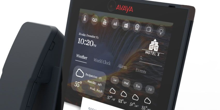 Released in the summer of 2016, the Avaya Vantage is a top of the