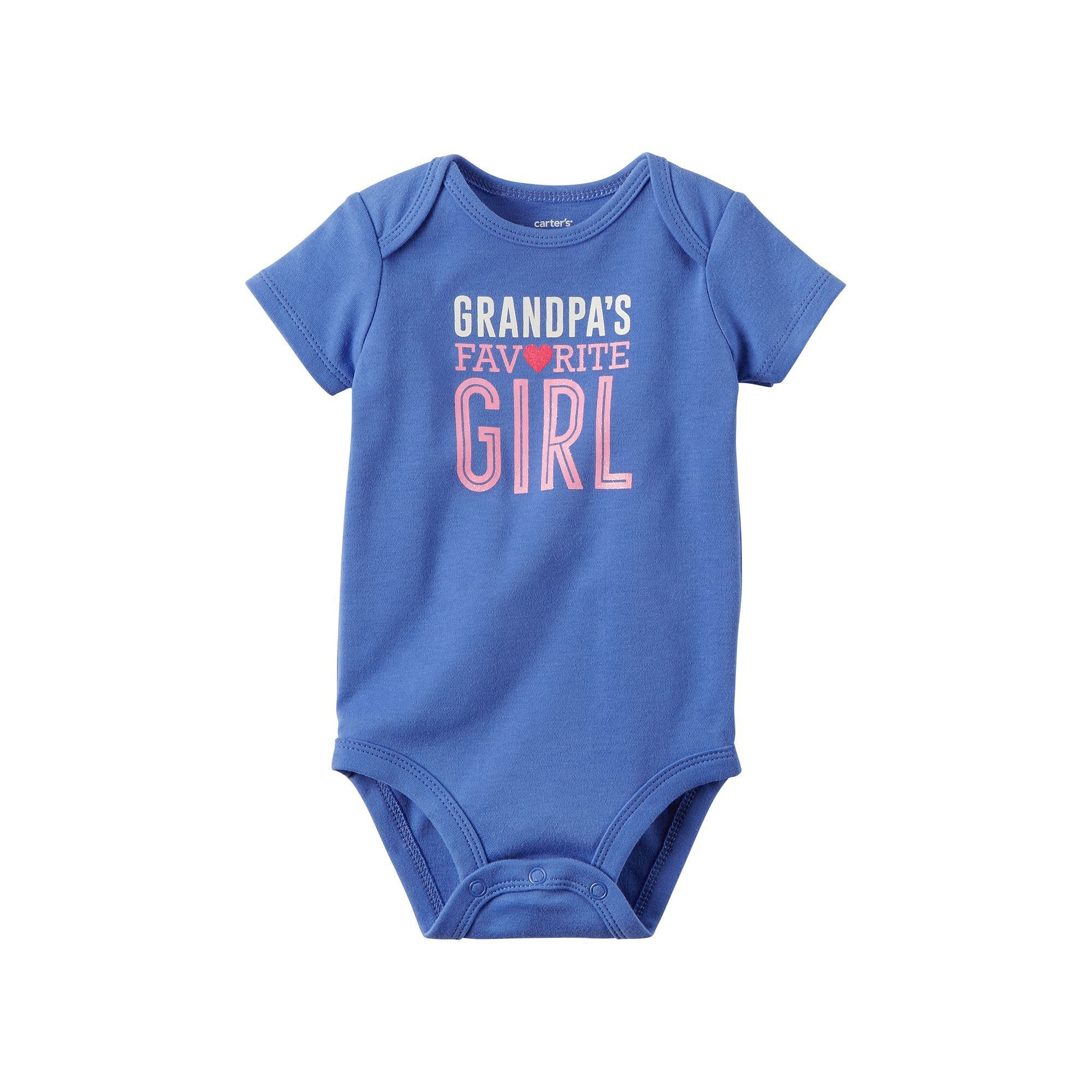 Baby Girl Carter s Family Graphic Slogan Bodysuit Size 24 Months