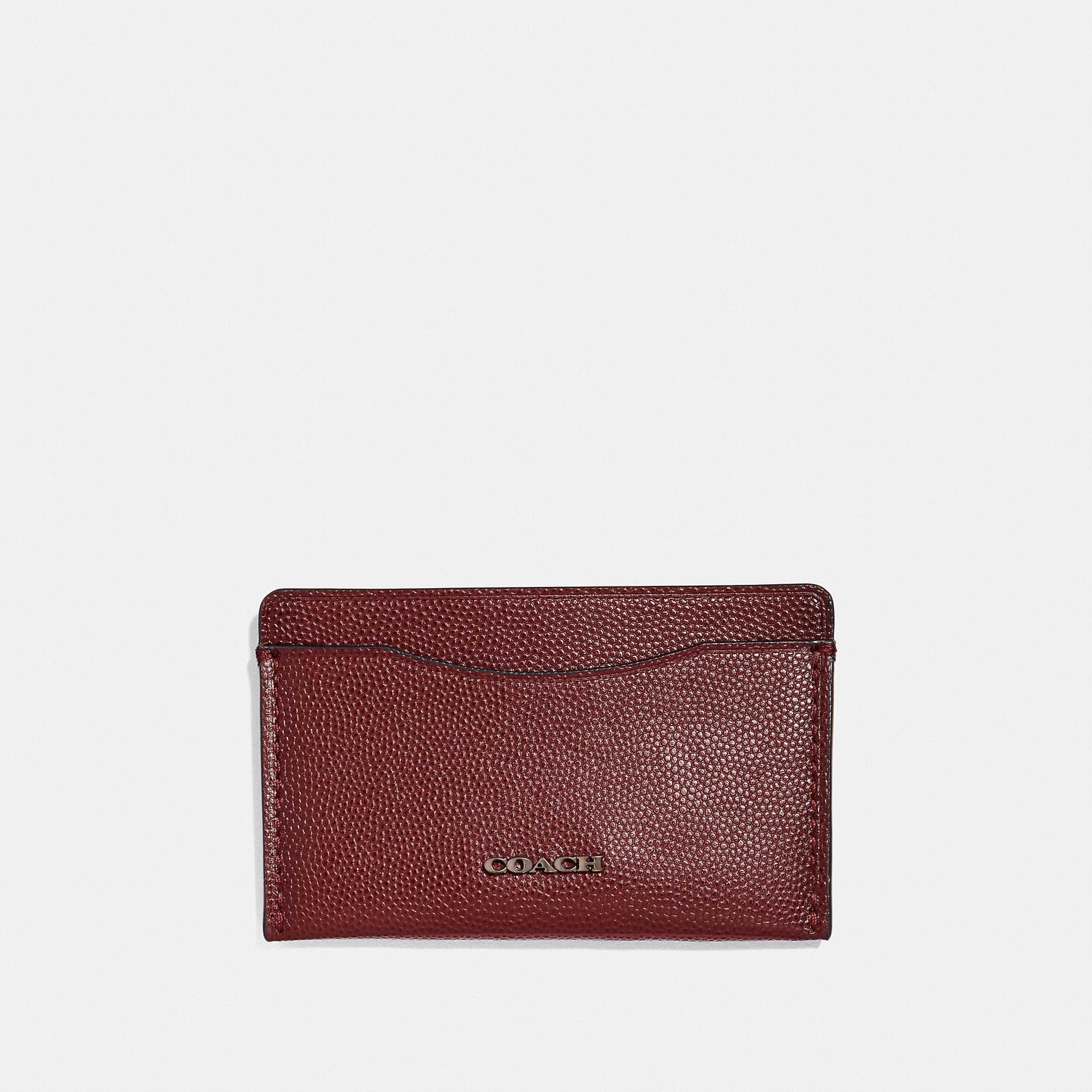 74e43a168d COACH Men's Small Card Case in 2019   Products   Leather card case ...