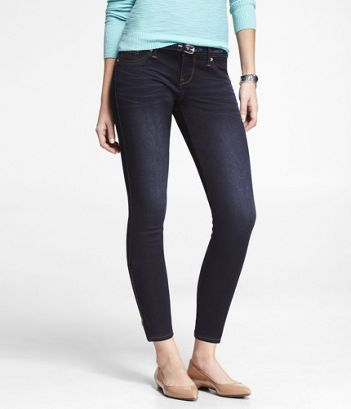 STELLA EXTREME STRETCH ANKLE ZIP JEANS at Express