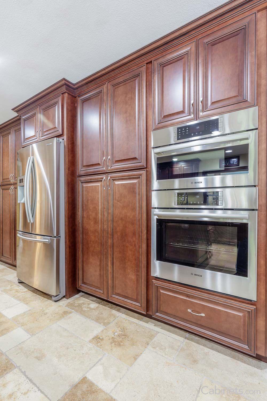 springfield maple java coffee glaze kitchen cabinet layout oven cabinet traditional kitchen on kitchen cabinets java id=38336