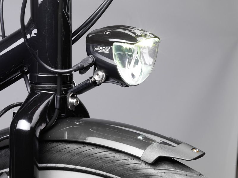 The Busch Muller Luxos U Headlight With Usb Charger Outlet