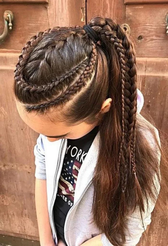 Pin On Braid Hairstyle Design Ideas