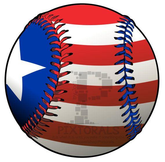 Baseball With Flag Png Transparent Backgrounds Eps File Vector Jpeg Baseball Clipart Vector Clip Art
