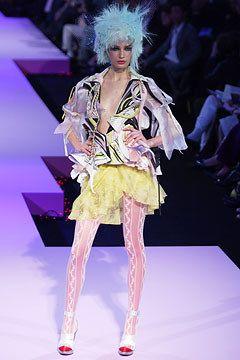 Christian Lacroix Spring 2003 Couture Fashion Show - Christian Lacroix, Eugenia Volodina (NATHALIE)