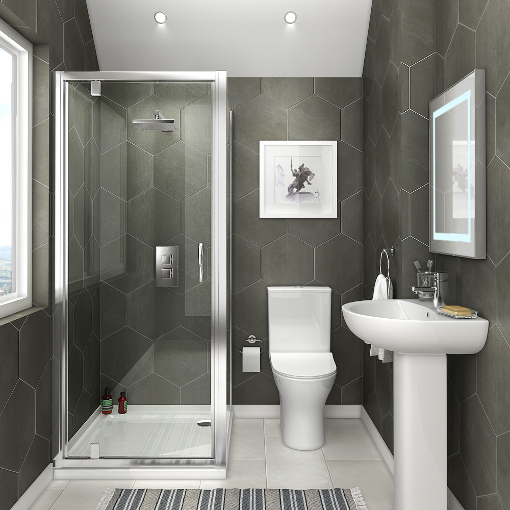 Orion Space Saving En Suite Bathroom Victorian Plumbing Uk In 2020 Ensuite Shower Room Bathroom Design Ensuite Bathrooms
