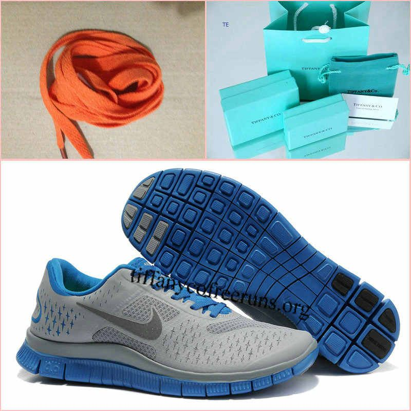 Mens Nike Free 4.0 V2 Cool GreyBlue Shoes $ 53.99 Nike  Nike