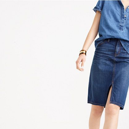 17 Best images about Denim Skirt on Pinterest | Jcrew, Skirts and ...