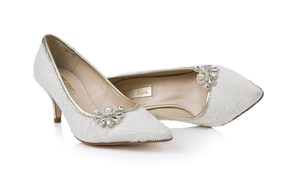 1000 Images About Bridal Shoes On Pinterest