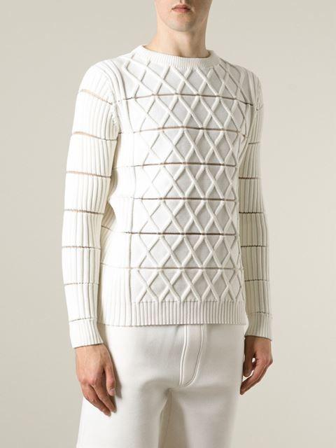 8e3681fac Kenzo Geometric Knit Sweater - Capsule By Eso - Farfetch.com | Man ...