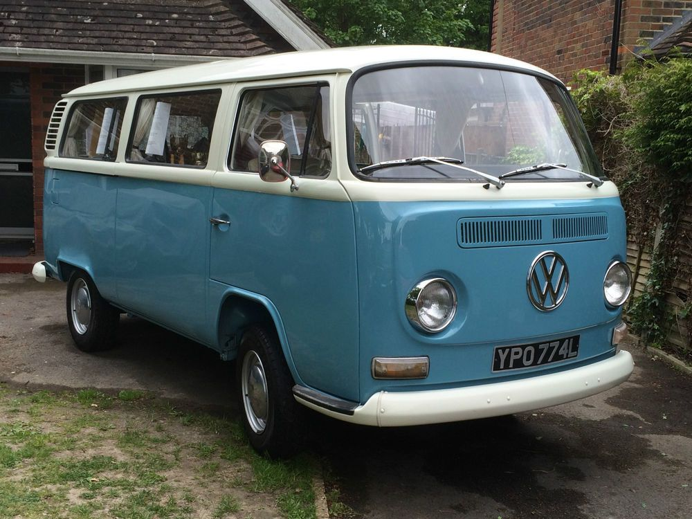 Sheu0027s Been Finished In Pastel White Over Niagra Blue,(which Are The  Original Colours · Vw BusVw ...