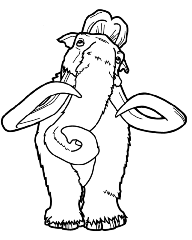Ice Age Confusion Ice Age Coloring Pages Pinterest Ice age