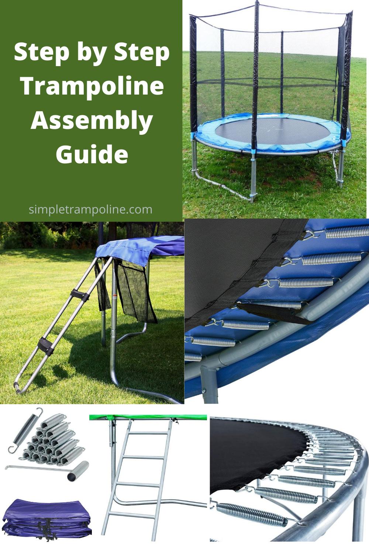 Step by Step Trampoline Assembly Guide | Trampoline ...