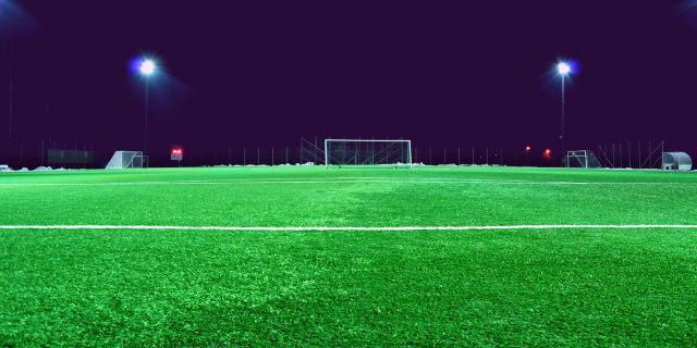 Football Field Lawn Gate Wallpaper Photo And Images Football Field Soccer Soccer Field