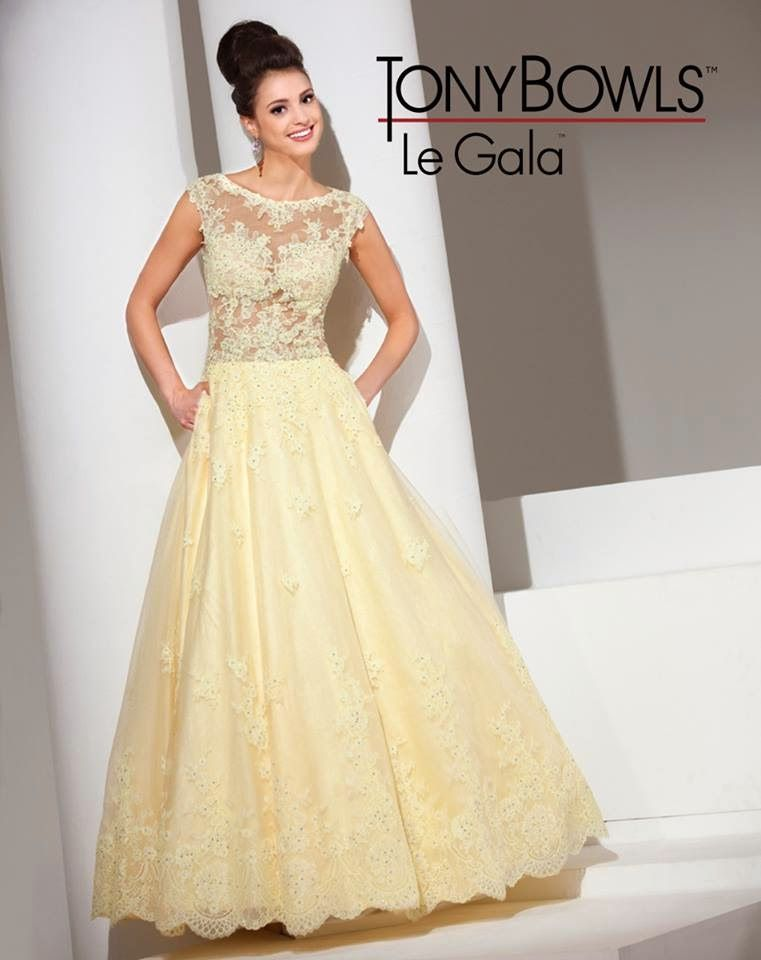 Latest Party Wear Proms Gowns For Young Girls By Tony Bowls