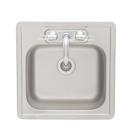 Franke Usa 22 Gauge Single Basin Drop In Stainless Steel Bar Sink With