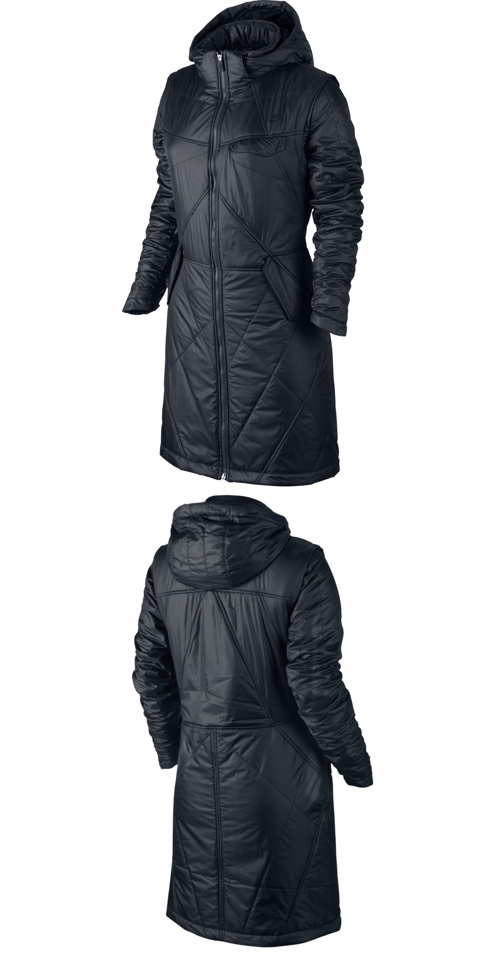 Coats And Jackets 63862 Nike Field Long Padded Jacket Women S Full