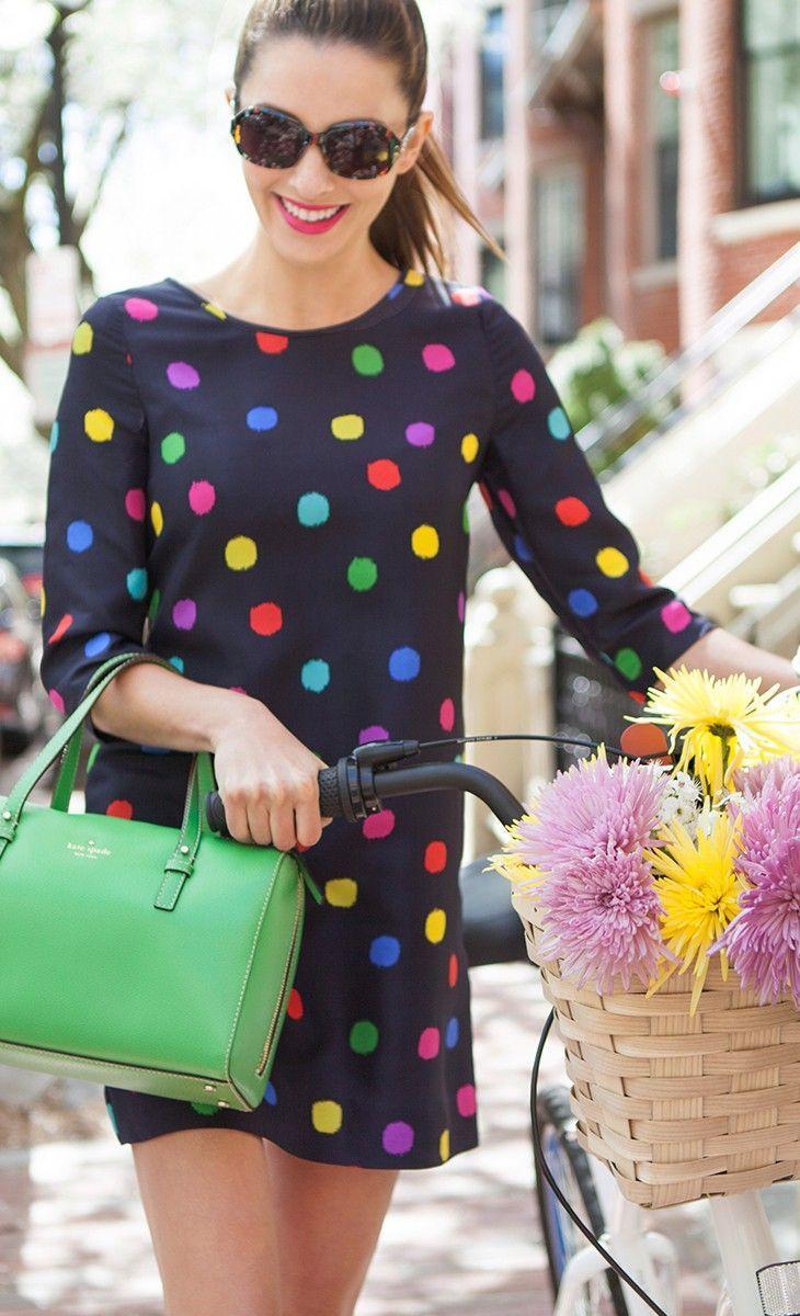 30 polka dot dresses cuteness overload my stitch fix style pinterest mode kleider und. Black Bedroom Furniture Sets. Home Design Ideas