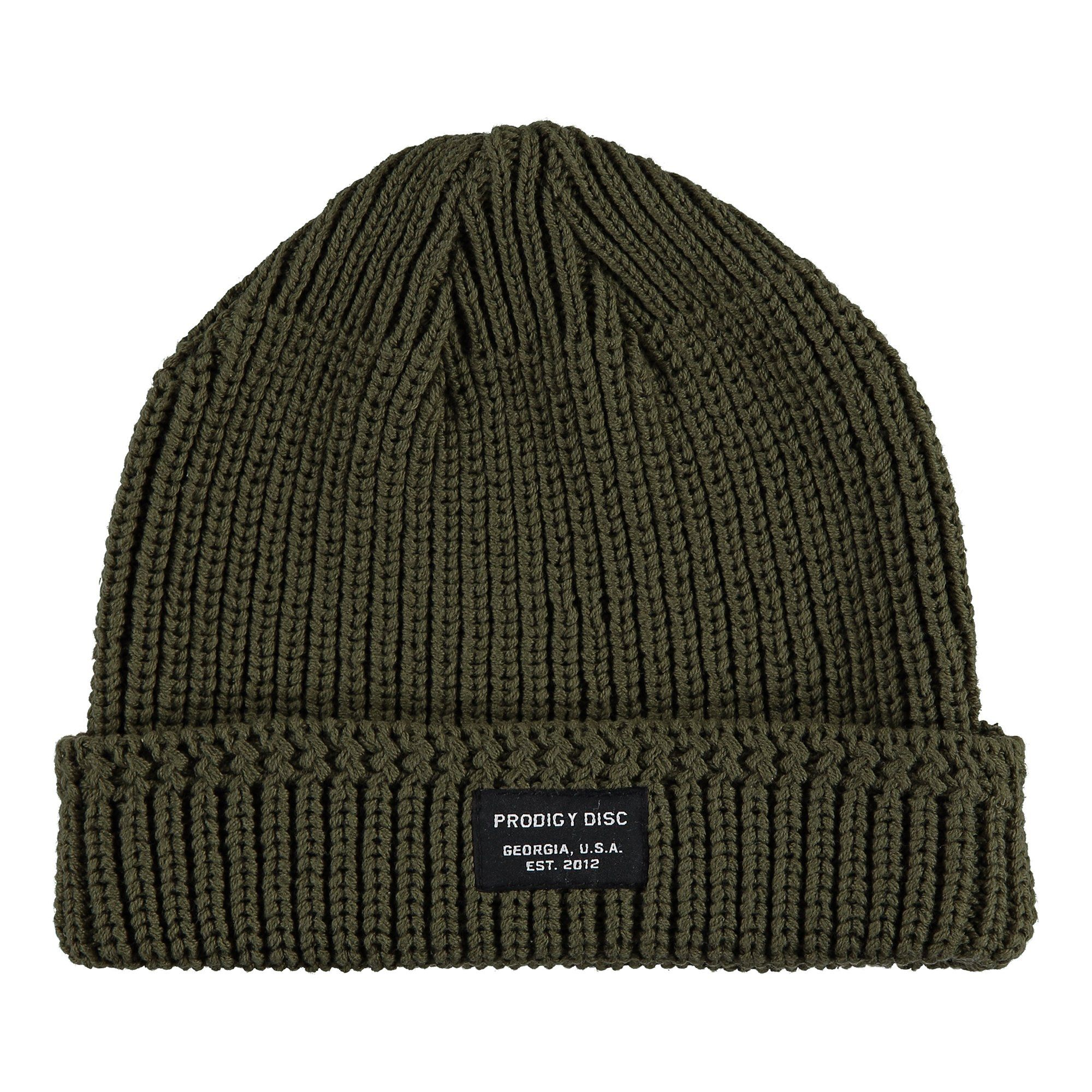 0f117b36056 The Prodigy Origin Knit Beanie is a vintage style rib-knit hat with a  Prodigy