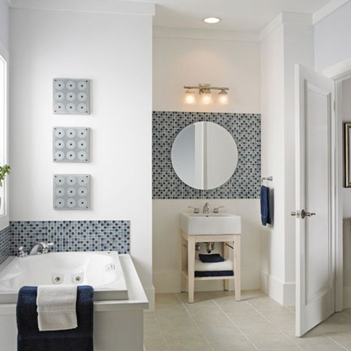 Decorative Tiles Bathroom Decorative Tile Accent Around A Bath Tub  Bathroom  Pinterest