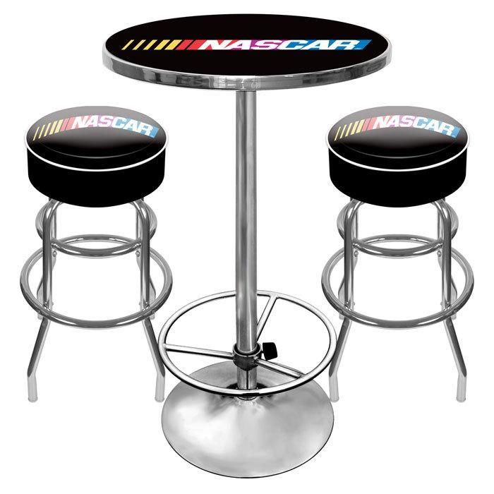 Nascar Bar Table With 2 Stools Pub Table And Stools Pub Table