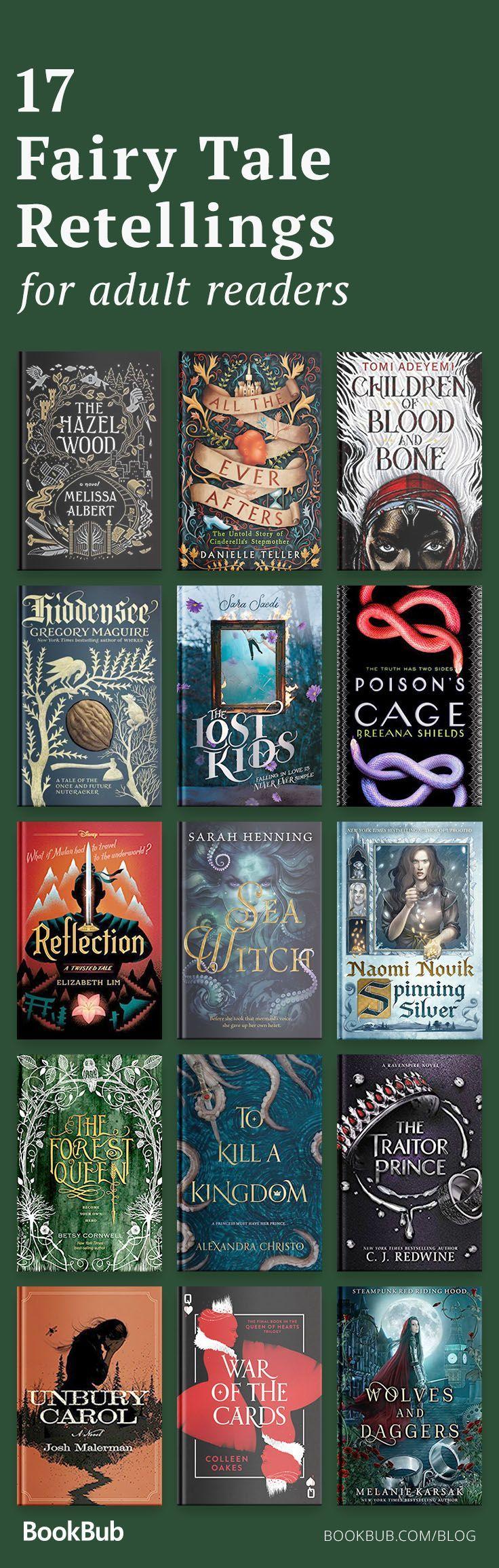 17 Fairy Tale Retellings for Adult Readers