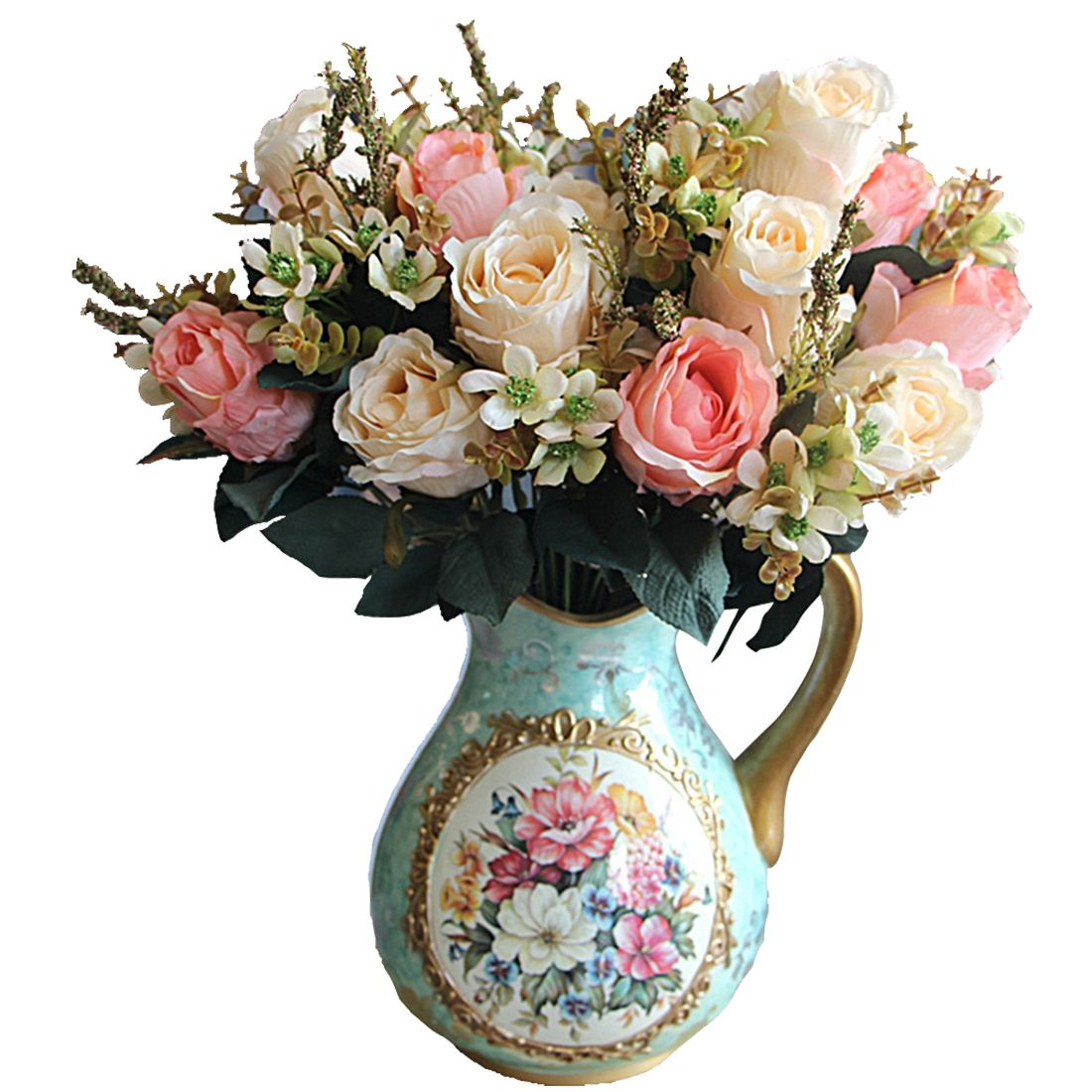Click to buy uesh beautiful charming delightful palace earl rose cheap decorative artificial flower buy quality artificial flowers wedding directly from china flower wedding suppliers beautiful charming delightful izmirmasajfo