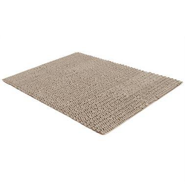 Tapis tricoté en coton 140x200cm. Esprit rétro. 3 coloris disponibles. 159€