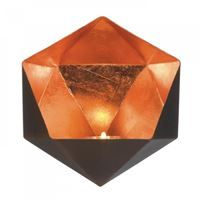 Show details for Copper Geometric Wall Sconce
