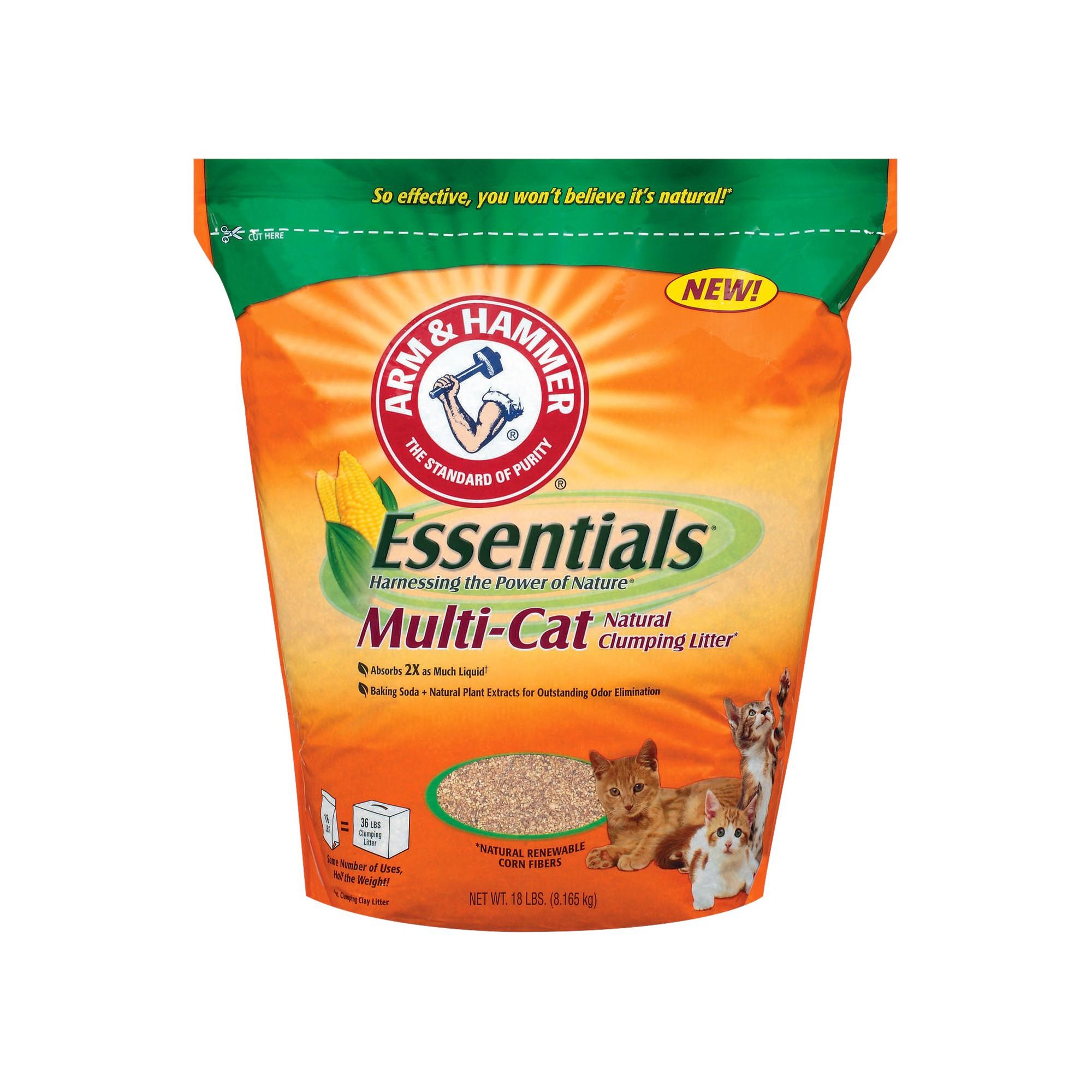 Arm & Hammer Essentials MultiCat Natural Clumping Cat