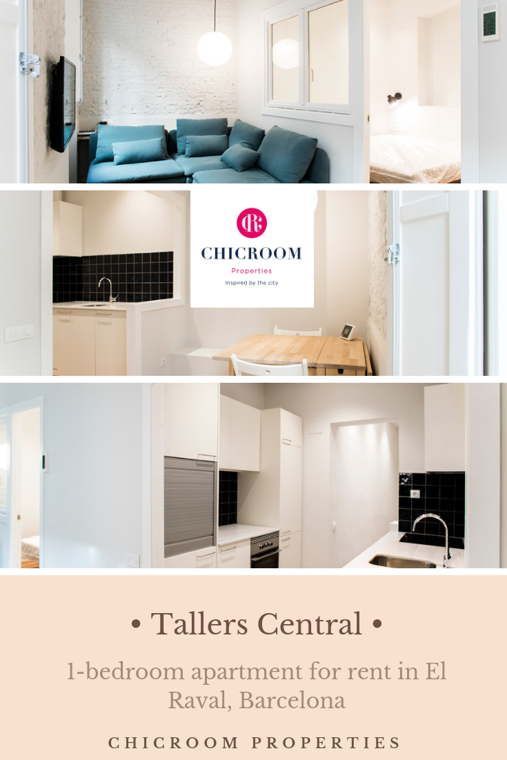 Cosy 1 Bedroom Apartment For Rent In Raval Barcelona For People