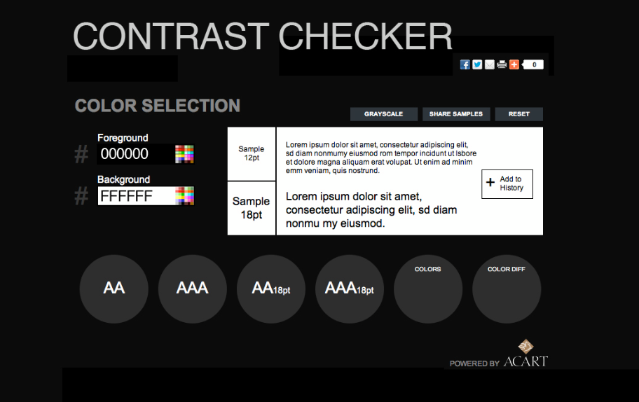 Color utils for Web Contrast Checker http