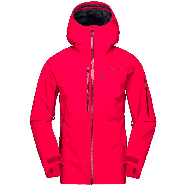 Photo of Women's Norrona Lofoten GORE-TEX Insulated Jacket 2020 – Medium Red