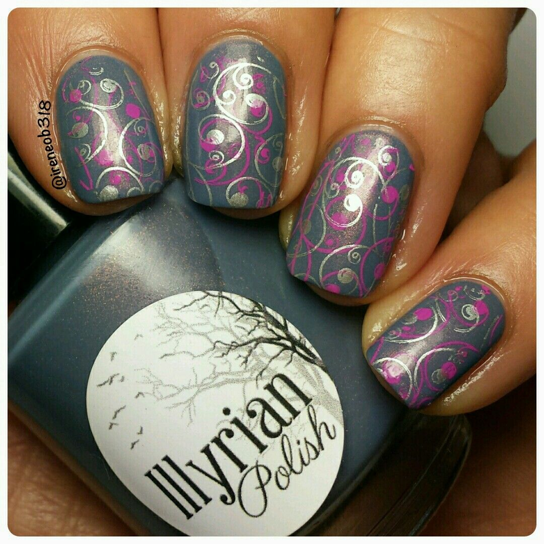 double stamping using plate HK07 polish is @illyrianpolish ...