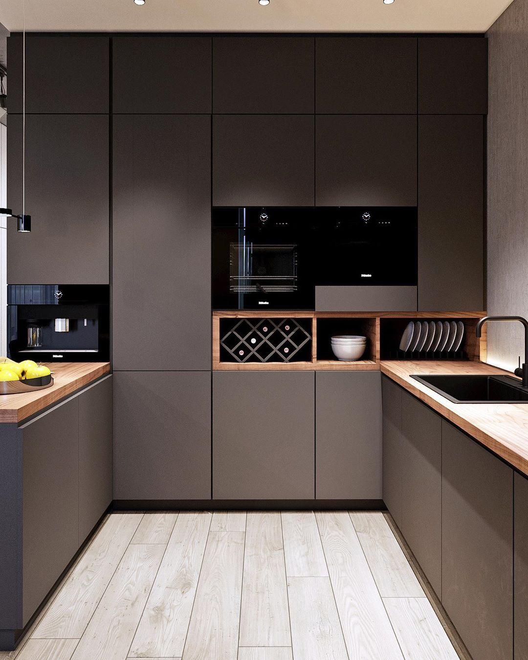 Pin by Stephanie Beyaert on H   Kitchen furniture design, Modern ...