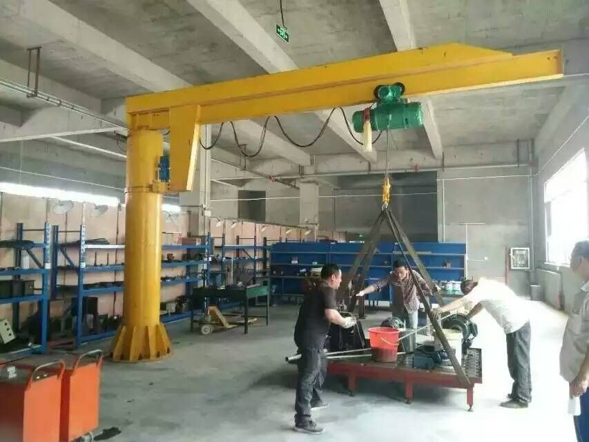 Jib Hoist Crane Suitable And Reliable Jib Cranes Supplied By