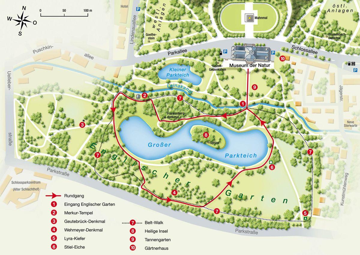 Rundgang Durch Den Englischen Garten Des Schlossparks Gotha Englischer Garten Schlosspark Schloss