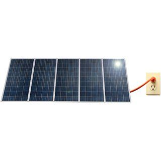 1 5kw Pluggedsolar With 1500watt Crystalline Solar Panels And Micro Grid Tie Inverter Plug Into Wall 120v Or 240v Ac O Solar Panels Solar Energy Panels Solar