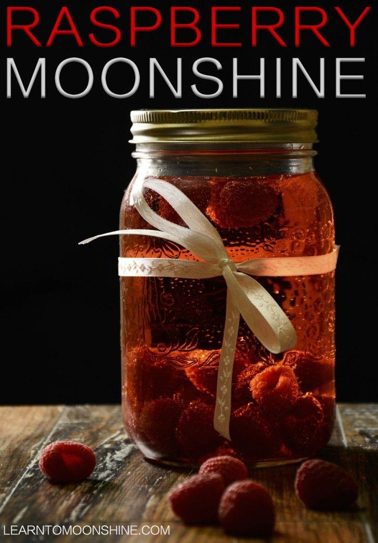 Homemade Raspberry Infused Moonshine Recipe Moonshine