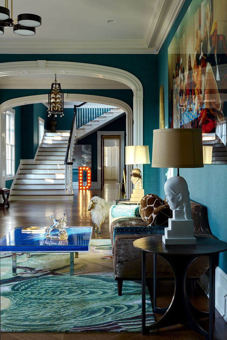 Step Inside This Colorful Retro New York Residence Interior