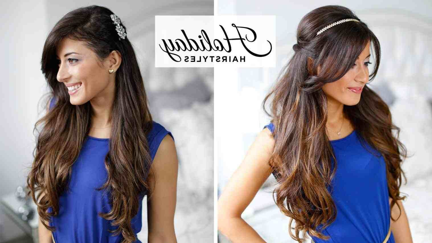 hairstyle for straight hair for party step by step | hair